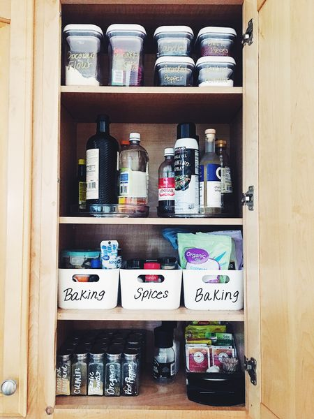 Kitchen cabinet organization ✨  #LTKunder50 #LTKSeasonal #LTKhome