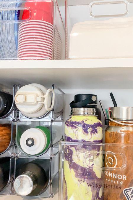 Shop our water bottle storage reel!   #LTKfamily #LTKhome #LTKkids