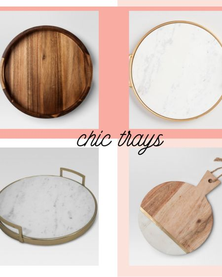 Looking for chic serving trays or accessories for your bedroom table? These are great, affordable options for the home. #liketkit @liketoknow.it #LTKhome http://liketk.it/3cMLp