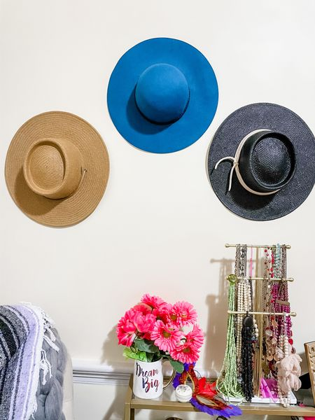 Working on my hat wall! I used Command hooks to hold the hats. ❤️ http://liketk.it/3bECv #liketkit @liketoknow.it #LTKunder50 #LTKSpringSale #LTKhome @liketoknow.it.home You can instantly shop all of my looks by following me on the LIKEtoKNOW.it shopping app