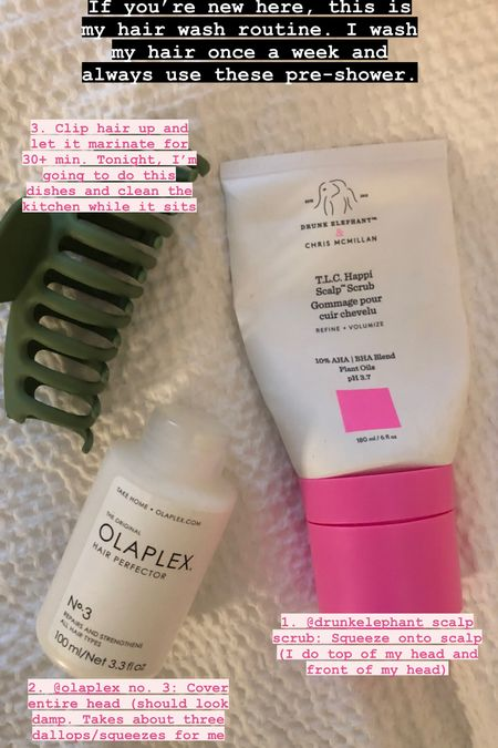 Hair wash routine // haircare // hair products   #LTKbeauty #LTKunder50