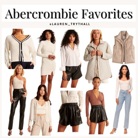 Abercrombie favorites from the LTK early gifting sale! So many great neutral pieces for a fall wardrobe  #LTKsalealert #LTKSale #LTKstyletip
