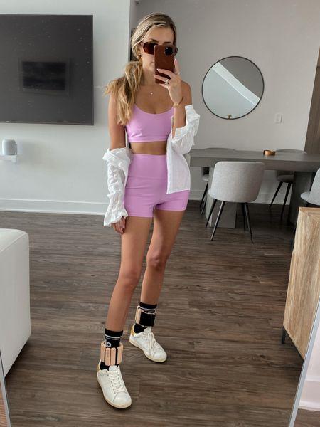 Workout set / hot girl walk attire   #LTKstyletip #LTKunder100 #LTKfit