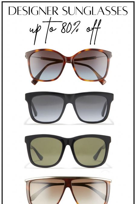 Gucci, Fendi, Givenchy and more designer brand sunglasses #thedailydupes   #LTKGifts #LTKHoliday
