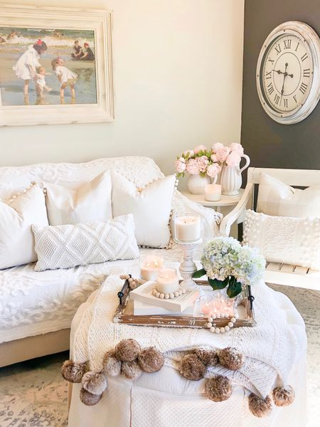 http://liketk.it/2Deyf Love the way these neutral tones soften up this space! These pillow covers from Amazon are a steal! You get a set of two for under $16! And this beautiful boho throw from Macy's is on sale for $26 and it also comes in gray! #liketkit #LTKhome #LTKstyletip #LTKunder50 #LTKunder100 #LTKsalealert @liketoknow.it @liketoknow.it.home