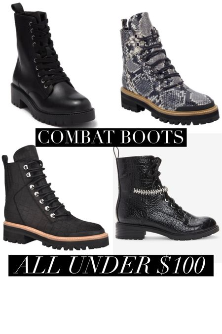 Combat boots 🥾 get em while they're 🔥 hot  http://liketk.it/2ZVex @liketoknow.it #liketkit #thebookofcaleb #fallstyle #LTKunder100 #LTKunder50 #LTKshoecrush #fallboots #winterboots #affordablestyle
