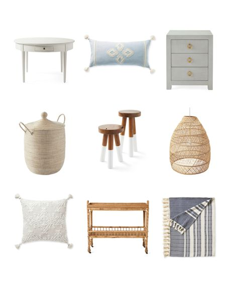 The Serena and Lily Fall Design event has been extended until October 5th! Use code NEWSEASON to get 20% off your order! Shop some great items like this dining table, decorative pillows, bedside table, woven basket, raffia bar cart, and more!  #LTKsalealert #LTKunder100 #LTKhome