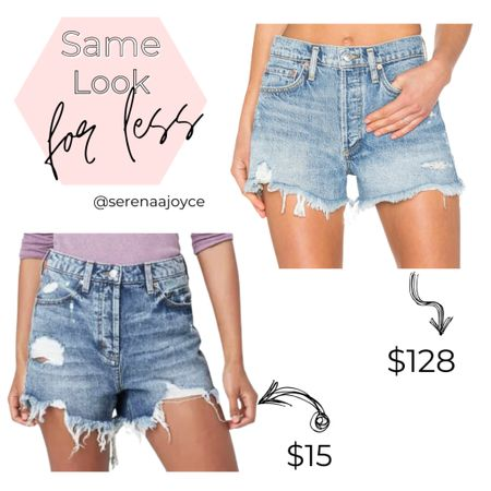 High waisted shorts Jean shorts Target style Wild fable Vacation outfit   #targetshorts #jeanshorts #denimshorts #highwaistedshorts #frayedshorts #vacationstyle #vacationoutfit #targetstyle #targetoutfit #targetfind #shorts #beachvacation  #LTKunder50 #LTKSeasonal #LTKunder100