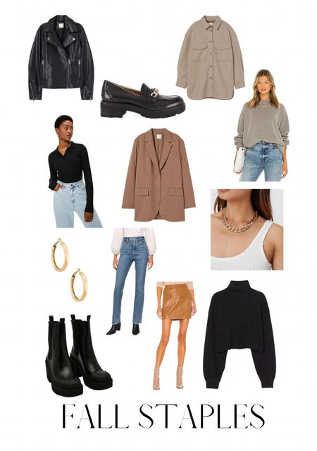 Fall outfit essentials, casual style, capsule wardrobe must haves for autumn  #LTKSeasonal #LTKunder50 #LTKstyletip
