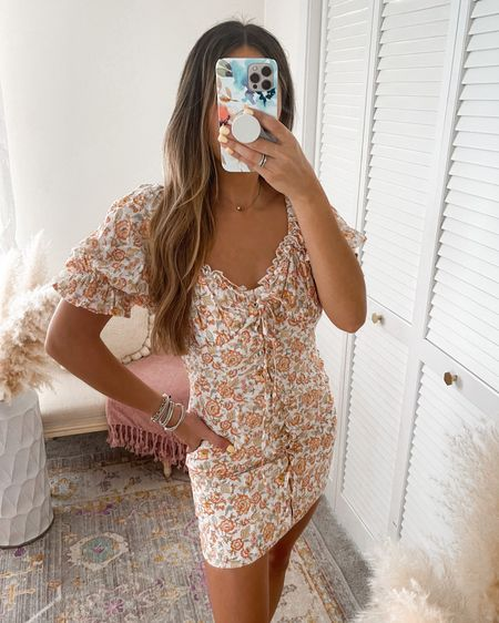 Floral corset mini dress (summer vacation outfit)  Wearing size SMALL   http://liketk.it/3k2dc #liketkit @liketoknow.it @liketoknow.it.brasil @liketoknow.it.europe @liketoknow.it.family @liketoknow.it.home #LTKtravel #LTKunder50 #LTKsalealert #forever21