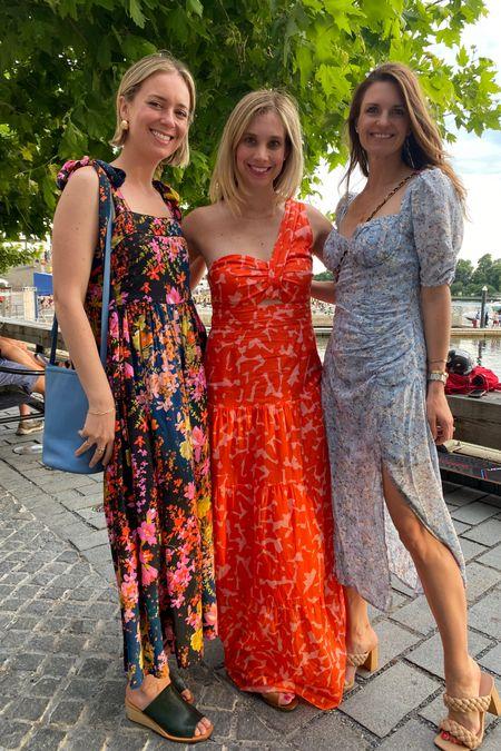 Floral dresses, girls not out, midi dress, dinner, summer floral dress, astr, Nordstrom style, amazon finds, braided heels, nude heels, finding beauty mom http://liketk.it/3hZBj #liketkit @liketoknow.it under $100 dresses #LTKunder100 #LTKwedding