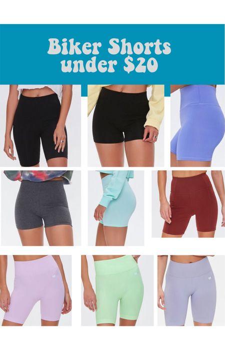 Biker shorts under $20! Not see through! http://liketk.it/3gtuA #liketkit @liketoknow.it #LTKtravel #LTKsalealert #LTKfit