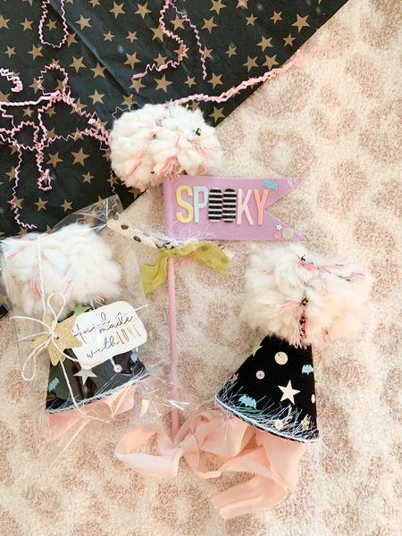 Halloween, handmade, Etsy, birthday hat, birthday, pom pom   #LTKSeasonal #LTKkids #LTKfamily