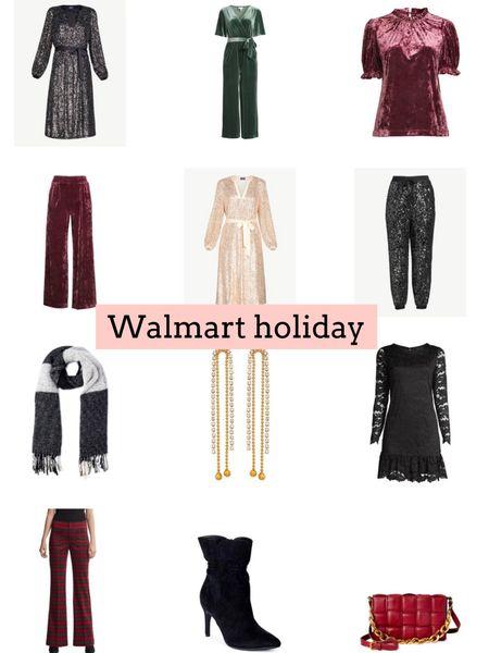 Walmart holiday style. Holiday outfits. Walmart fashion   #LTKHoliday #LTKSeasonal #LTKunder50