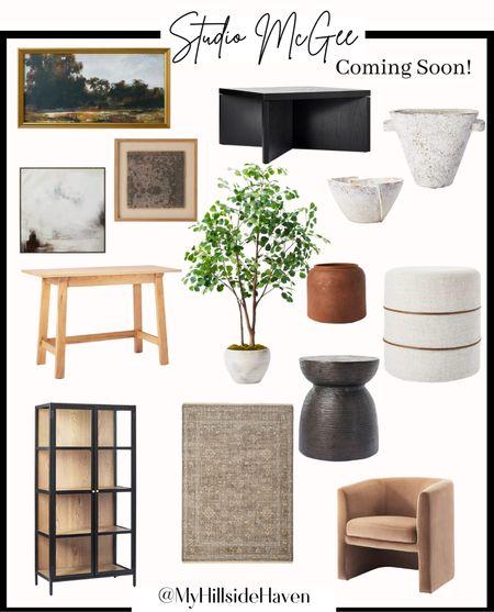 New Target Studio McGee a coming soon! Releasing July 11th  Rug, vase, vintage art, neutral decor, fall decor, faux plant, affordable decor   #LTKhome #LTKsalealert #LTKunder100