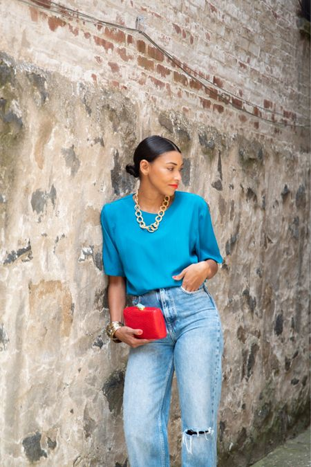Blouse and jeans outfit http://liketk.it/3h0gO #liketkit @liketoknow.it #LTKunder50 #LTKunder100 #LTKstyletip