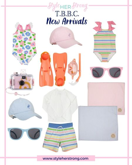 New retro swimwear for babies boys and girls at the beaufort bonnet company   #LTKbaby #LTKswim #LTKkids