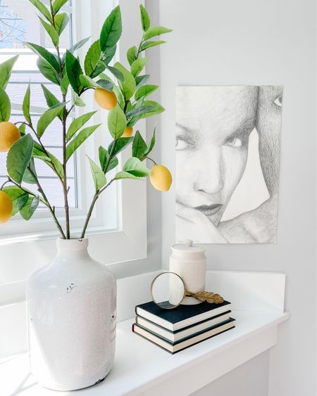 http://liketk.it/3djWp #liketkit @liketoknow.it @liketoknow.it.home  Lemon stem, lemon decor, stem decor, artificial stem, canister, bath canister  Shop your screenshot of this pic with the LIKEtoKNOW.it shopping app   #LTKfamily #LTKhome #LTKunder50