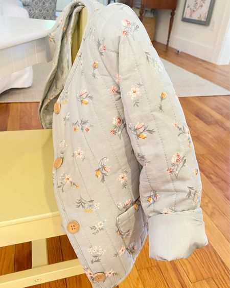 Wishing they made this floral jacket in my size! http://liketk.it/2XH0U #liketkit @liketoknow.it @liketoknow.it.family