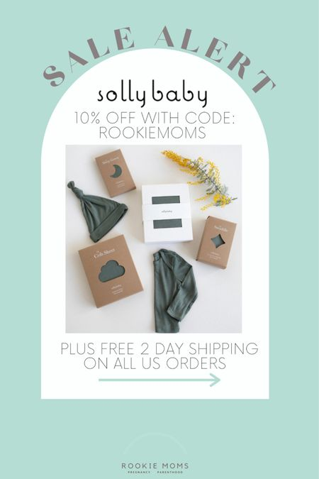 Use our code: ROOKIEMOMS to save 10% on our favorite loop carriers, sleepers, and swaddles. Plus get free 2-day shipping on US orders through 5/31   http://liketk.it/3gqqy #liketkit @liketoknow.it #LTKbaby #LTKsalealert @liketoknow.it.family @liketoknow.it.home Shop your screenshot of this pic with the LIKEtoKNOW.it shopping app #LTKbump