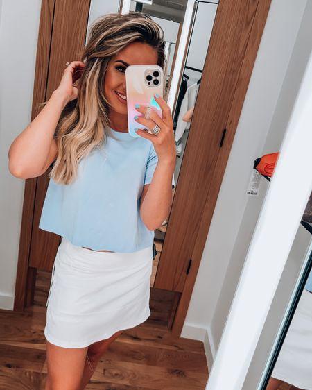 Best tee and tennis skirt! Lululemon http://liketk.it/3hT52 #liketkit @liketoknow.it