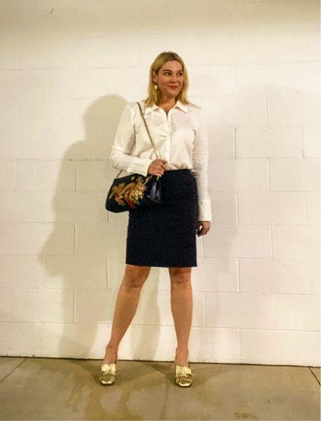 Me and my shadow…  #LTKcurves #LTKworkwear #LTKitbag