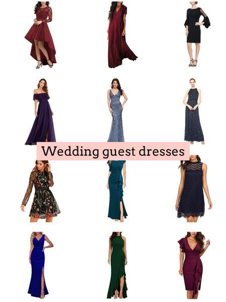 Wedding guest dresses   #LTKunder50 #LTKSeasonal #LTKwedding