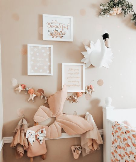 Girls Room Decor. Girls Nursery Decor. Wall Decor for kids room. Prints. Decals. Shelves. Hooks. ✨    #LTKbaby #LTKkids #LTKhome