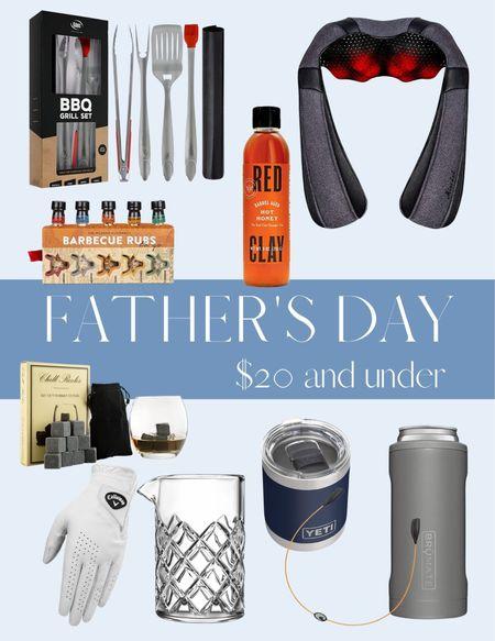 UNDER $20 FATHER'S DAY GIFT GUIDE 🍻  #LTKSeasonal #LTKunder50