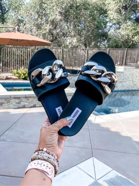 On SALE 25% off with code SUNNY Summer sandals. Steve Madden.   #LTKSeasonal #LTKsalealert #LTKunder50