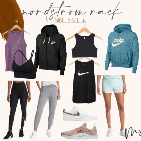 Women's Nike deals at Nordstrom rack #nike #getfit #nikedeals #workoutclothes  #LTKunder50 #LTKfit #LTKsalealert