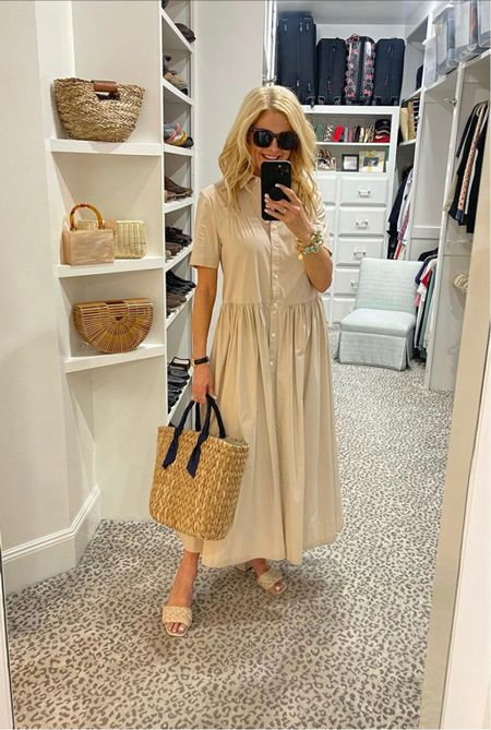 Love this maxi dress for summer! Size down.     #LTKstyletip #LTKSeasonal #LTKitbag