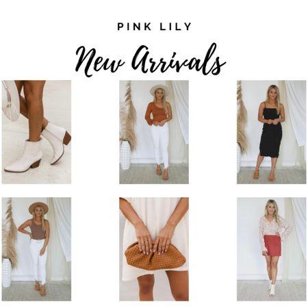 Pink Lily boots purses and dresses  #LTKunder50 #LTKitbag #LTKshoecrush