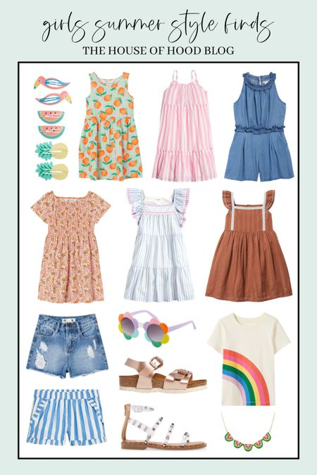 Summer style for girls! http://liketk.it/3eMey #liketkit @liketoknow.it #LTKfamily #LTKkids #LTKunder50 @liketoknow.it.family    You can instantly shop all of my looks by following me on the LIKEtoKNOW.it shopping app