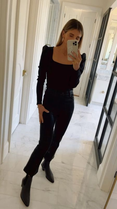 Black booties currently on sale 40% off