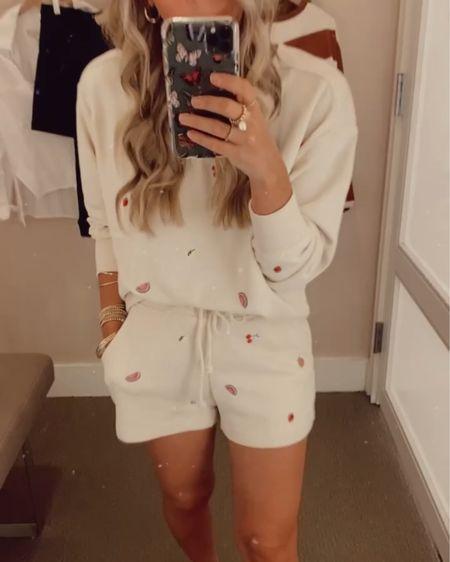 Summer shorts set! 🍒🍉   http://liketk.it/3hHt0 @liketoknow.it #liketkit #LTKsalealert #LTKstyletip