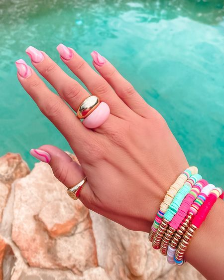 Trendy amazon rings and bracelets! Each 10. Rings come in a pack of 3 and 5!   #liketkit @liketoknow.it http://liketk.it/3iaQd #LTKsalealert #LTKunder50 #LTKstyletip