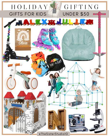 Holiday gifting: gifts for kids under $50!  #LTKunder50 #LTKGiftGuide #LTKkids