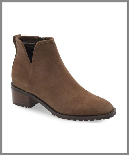 Nice ankle boot that could work as a dress boot but also the waterproof. in the Nordstrom anniversary sale. useful yet stylish edition for a new fall wardrobe.  #LTKSeasonal #LTKsalealert #LTKshoecrush