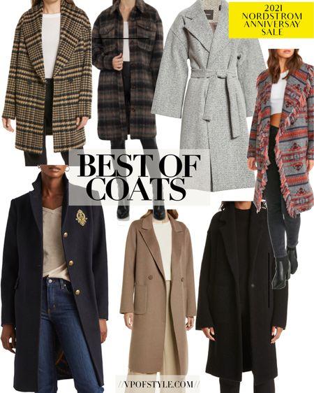 Nordstrom anniversary sale coat favorites! Loving all of these coat options included in the sale most under $200 http://liketk.it/3jVWi #liketkit @liketoknow.it #LTKunder100 #LTKsalealert #LTKstyletip