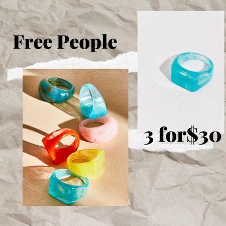 Chunky rings   #LTKunder50 #LTKsalealert #LTKSeasonal