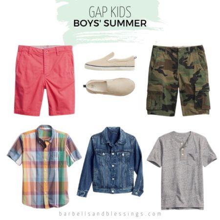 Boys summer clothes   #LTKkids #LTKSeasonal #LTKfamily