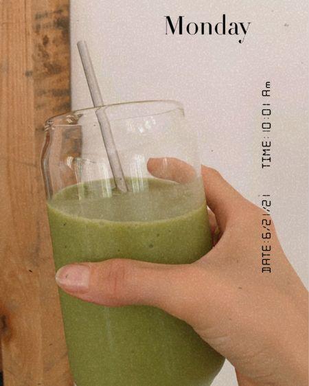 http://liketk.it/3ifvf #liketkit @liketoknow.it Favorite morning smoothie glasses and straws