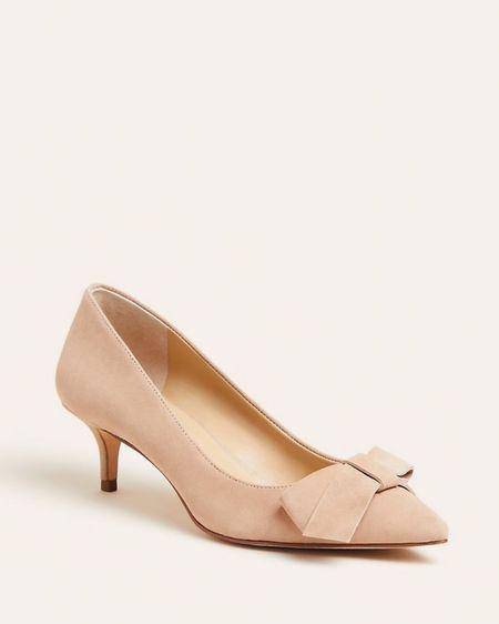 Bow heels on sale! http://liketk.it/2HHA1 #liketkit @liketoknow.it #LTKshoecrush #LTKsalealert