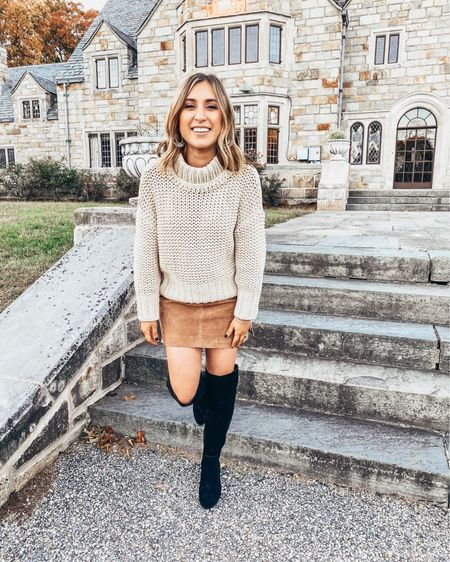 🍂🍁🍂Just rounded up my top 5 sweaters by one of my favorite brands on the blog! 🧡Click link in bio or head to shoppedtilshedropped.com  Shop all my looks in the LIKEtoKNOW.it app! Simply download the app, give me a follow or screenshot one of my IG pics to shop! http://liketk.it/2GbjJ #liketkit @liketoknow.it