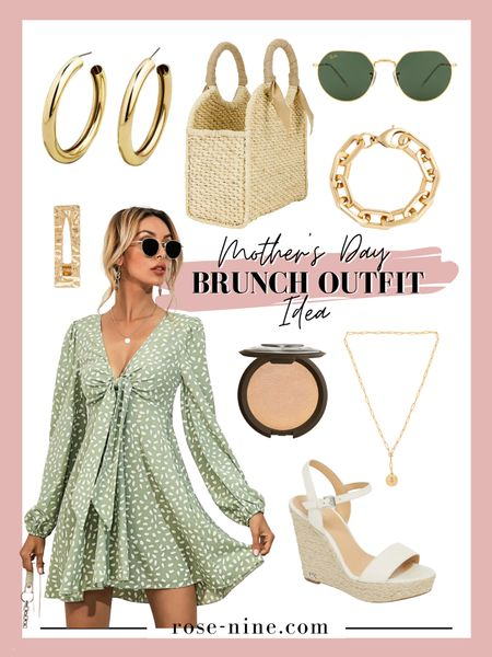 Mother's Day Brunch Outfit Idea! Super cute and flirty outfit for brunch. #mothersday #mothersdaybrunch #outfitideas #brunchoutfit #mothersdayoutfit #summeroutfit #beachoutfit #LTKshoecrush #LTKstyletip #LTKfit #liketkit @liketoknow.it http://liketk.it/3eBov