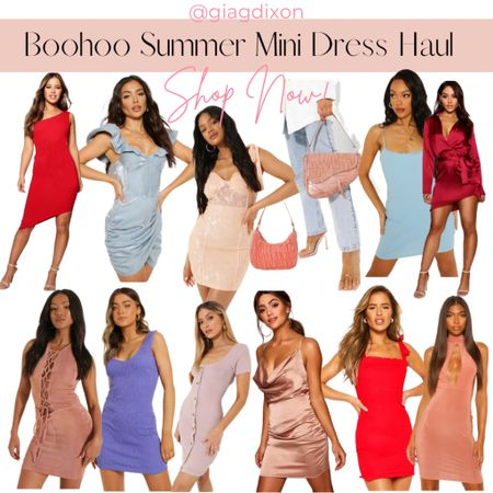 Boohoo Summer mini dresses haul #liketoknowit #ootd #ltkunder #liketkit #fashion #fashionblogger #k #liketoknowitstyle #like #discoverunder #ltkstyletip #styleblogger #liketoknowitunder #styleinspo #style #blogger #ltkfashion #bloggerstyle #follow #targetstyle #influencer #liketoknowithome #ootdfashion #ltkit #onlineshopping #ltk #fashionista #instafashion #amazonfashion #bhfyp   #LTKSeasonal #LTKstyletip #LTKunder50