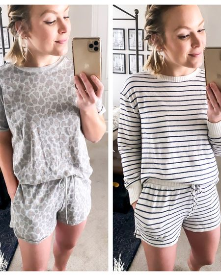 Loving all of the cute loungewear sets I'm seeing everywhere 😍. These two are super affordable and definitely make staying in a little better! Click the link in my bio to check them out ☝🏻☝🏻 OR follow me in the free @liketoknow.it app to shop all of my Instagram looks 🥂 •  http://liketk.it/2Mnra  •  #liketkit #StayHomeWithLTK #LTKunder50 #LTKspring