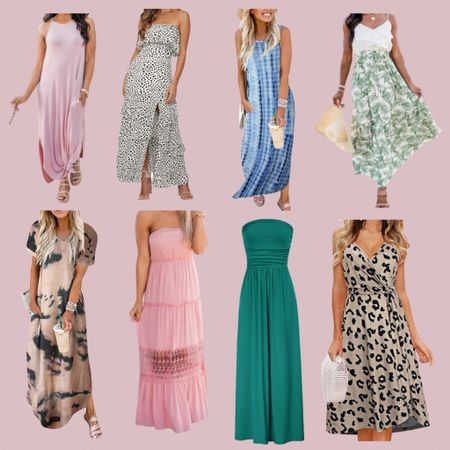 Shop the cutest maxi dress styles at such an affordable price! These are some of our personal favorites this year 😍😍😍 http://liketk.it/3ef9n #liketkit @liketoknow.it #LTKstyletip #LTKunder50 #LTKunder100 You can instantly shop my looks by following me on the LIKEtoKNOW.it shopping app
