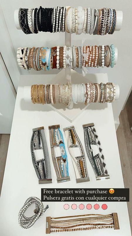 Free Bracelet with Purchase  http://liketk.it/3d2y3 #liketkit @liketoknow.it   #LTKSeasonal #LTKstyletip #LTKunder50
